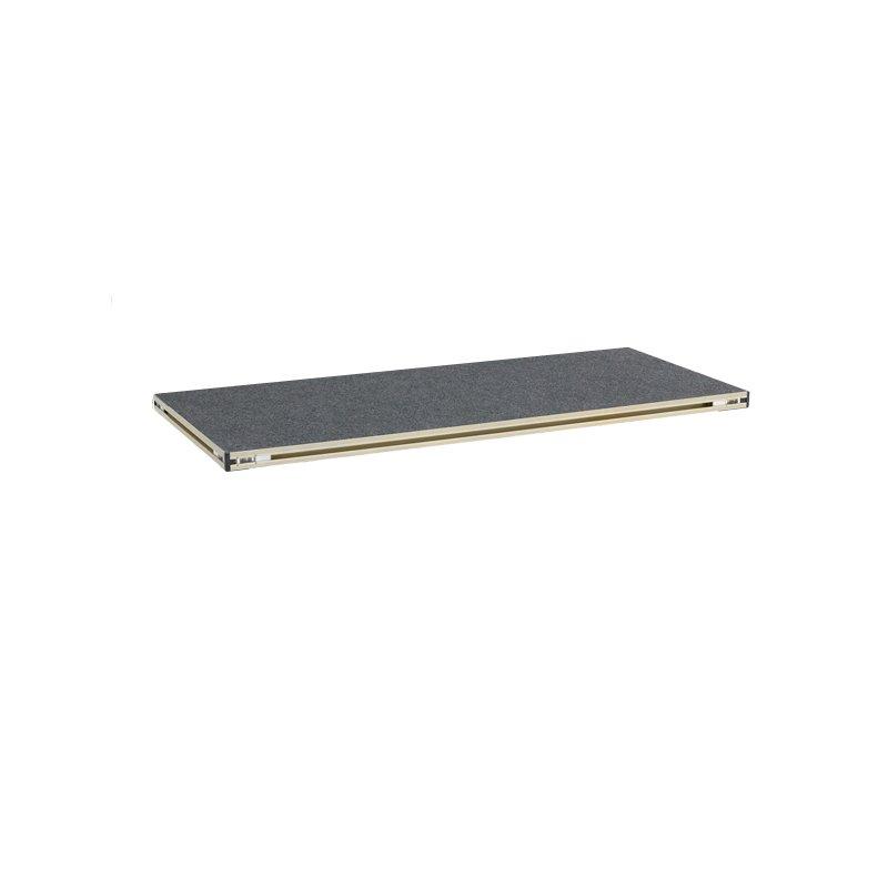 Revostage BühnenpodestPlatte (Teppich, grau) 1 m x 0,52 m