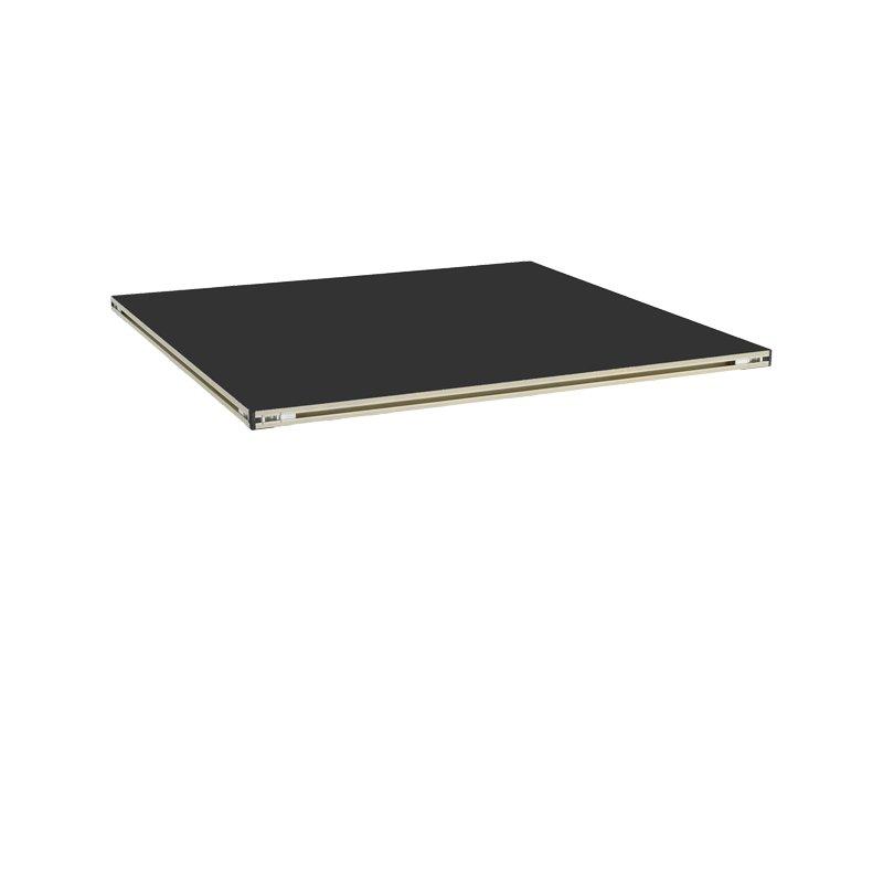 Revostage BühnenpodestPlatte (Teppich, schwarz) 0,52 m x