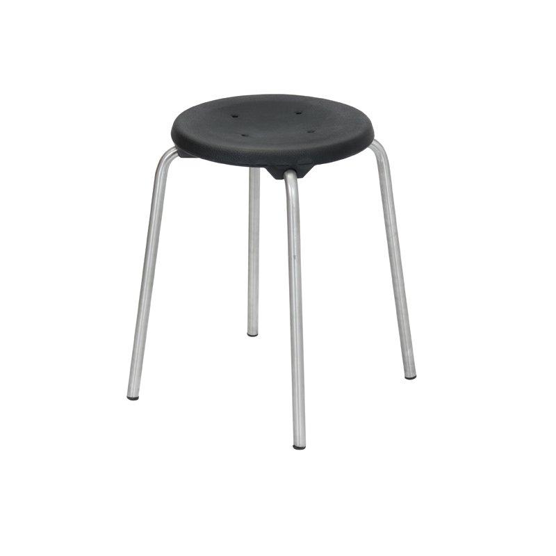 stapel hocker edelstahl modell 3250 h he 50 cm von lotz 114 90. Black Bedroom Furniture Sets. Home Design Ideas