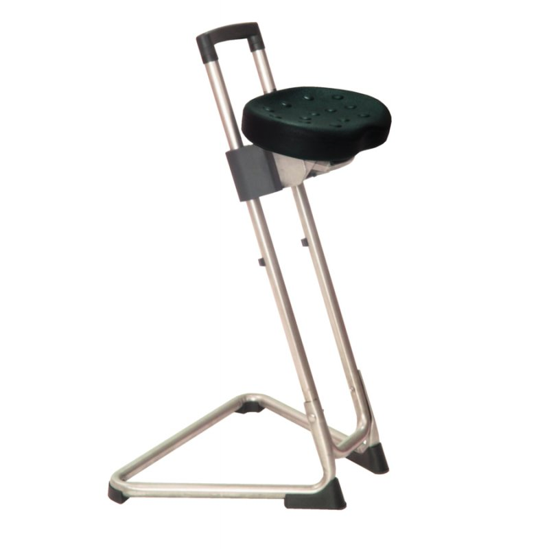 Sit stand stool the steady stainless steel by lotz 349 90 for Stand 2 b