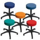 Swivel Stool Synthetic Leather Model 3520.0 with Gliders by Lotz