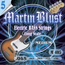 Martin Blust Electric Bass Strings M405-5 Medium